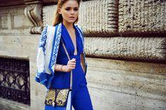 Milan Fashion Week / ss14 / Kayture / Kristina Bazan / Outfit