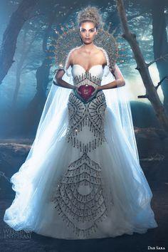 dar sara 2014 vienna bridal collection empress wedding dress