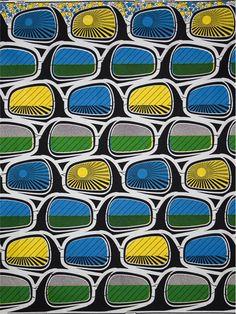 rearview mirror - Vlisco textile