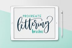Pack of 8 Procreate Brushes by Hewitt Avenue on @creativemarket