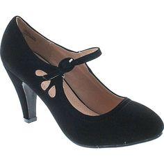 Chase & Chloe Kimmy-21 Women's Round Toe Pierced Mid Heel... https://www.amazon.com/dp/B072QRJYRW/ref=cm_sw_r_pi_dp_x_b.KhAbP2QN5FT