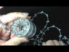 Draht stricken mir der Strickliesel / wire spool knitting - YouTube