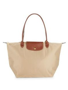 LONGCHAMP Le Pilage Tote. #longchamp #bags #leather #hand bags #nylon #tote #lining #