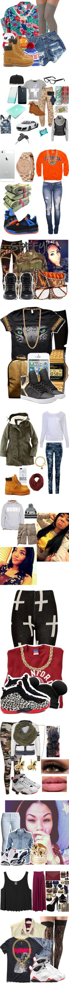 """""""Street Style (Dope Part. 4)."""" by mrkr-lawson ❤ liked on Polyvore"""