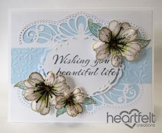 Heartfelt Creations | Regal White Lilies