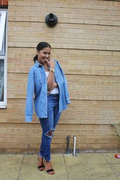 Sabah's Closet: Double the denim