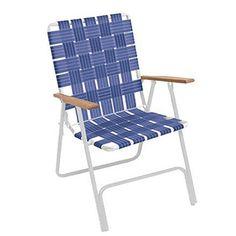 Bon Folding Lawn Chair | Folding High Back Web Lawn Chair By Rio Brands    American Sale