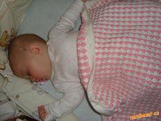 Háčkovaná deka vzorek