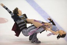 Ice Dance Champions Danielle and Alexander Gamelin