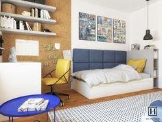 Kids Bedroom, Bedroom Decor, Teenage Room, Kids Party Games, Boy Room, Home Office, Couch, Interior Design, Furniture