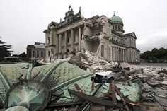 Debris crushed a car outside the Christchurch Catholic Cathedral after an earthquake rocked Christchurch, New Zealand, Tuesday, February New Zealand Earthquake, Earthquake Damage, Christchurch New Zealand, Haunting Photos, My Church, South Island, Natural Disasters, Ciel, Historical Photos