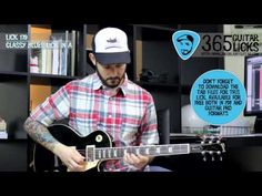 Lick 179/365 - Classy Blues Lick in A | 365 Guitar Licks Project - YouTube
