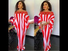 This video contains the latest, super cute 2019 stylish kaftan collection. Kaftan dresses are the trending fashion now , so checkout the latest styles in thi. Latest African Fashion Dresses, African Dresses For Women, African Attire, African Women, Ankara Fashion, African Print Dress Designs, African Print Dresses, African Print Fashion, Kaftan Designs