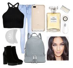 """""""Lololol.............idk"""" by katniss384 ❤ liked on Polyvore featuring Hogan, Glamorous, MICHAEL Michael Kors, Topshop, Chanel and Clarisonic"""