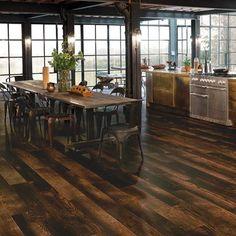 VGW102T Charred Oak Kitchen Diner Flooring - Van Gogh