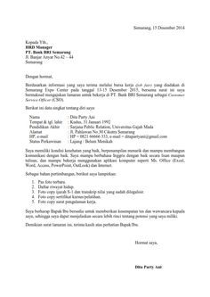 Surat lamaran kerja dalam bahasa inggris yang baik dan benar ben surat lamaran kerja untuk bank ben jobs thecheapjerseys Images