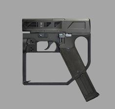 Homemade Crossbow, Futuristic Design, Hand Guns, Weapons, Compact, Concept Art, Engineering, Artwork, Sci Fi