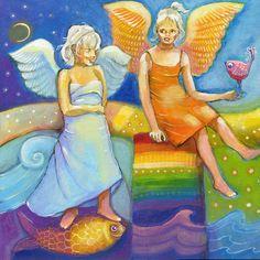 Anioły - Tęczowe dziewczynki
