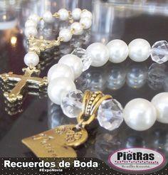 Pulseras de novia, se pueden utilizar como accesorio o para recuerdos.  #Ideas #PietRas