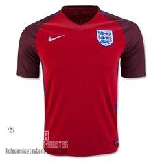 Camiseta Segunda Inghilterra Euro 2016  €15.5