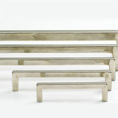 Vinci Cast Bronze Cabinet Pull - Cabinet and Drawer Hardware - Hardware