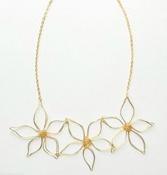 What is better than getting that fashionable Anthropologie style at a fraction of the price? I'm not talking about raiding sales racks, though; I'm talking about this Anthroplogie Knockoff Daisy Chain Necklace. This super gorgeous golden wire necklace harvest all the beauty in the very popular daisy flower, and makes it into a stunning necklace. On top of that, you know this piece of knockoff jewelry is going to look chic no matter how you wear it. Even though floral patterns are fit for…
