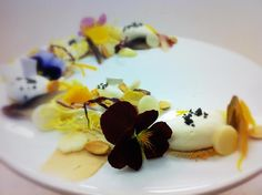 Belgium Endive, Marcona Almond, Apple, Goat Cheese Mousse, Candied Orange, Earl Grey Crisps.