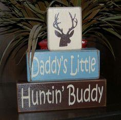 Daddys little huntin' buddy.