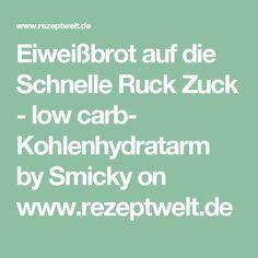 Eiweißbrot auf die Schnelle Ruck Zuck - low carb- Kohlenhydratarm by Smicky on www.rezeptwelt.de