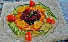 Salada Colorida de Legumes com Laranja