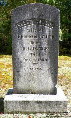 Granite in My Blood: Tombstone Tuesday: Ellen FARLEY #genealogy