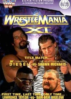 WWF / WWE: Wrestlemania 11 - Event poster