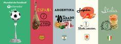 ¿Preparado para saltar al terreno de juego? Comienza el Mundial de foodball de eltenedor. Vota para elegir las selecciones finalistas y gana increíbles cenas ¿Juegas?