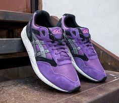 asics gel saga purple