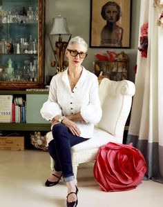 Linda Rodin...combining inherent and dramatic