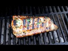 Grilled Mahi-Mahi Cilantro Pineapple Marinade - 1/4 c chopped cilantro, 1/2 c pineapple juice, 3 cloves garlic grated, 1T olive oil, 1Thoney, 1t cayenne pepper. while grilling place 1 pat butter on top of fish.