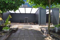 Vrijstaande aluminium veranda
