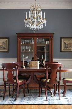 The wall color is Templeton Gray by Benjamin Moore.