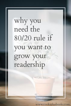 Why you need the 80/