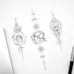 © Tattoo Artist Fedor Nozdrin on - mini tattoos Map Tattoos, Forearm Tattoos, Tattoo Drawings, Body Art Tattoos, Crown Tattoos, Heart Tattoos, Skull Tattoos, Globe Tattoos, Sketch Tattoo