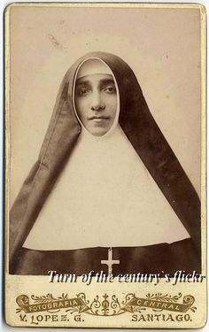 A turn-of-the-20th century Chilean nun