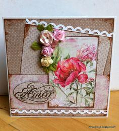 MyPixieRose: Smukt kort med blomster