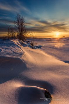 """Winter's Splendor #6 - Sculpted"" Ottawa River, Ontario, Canada,by Dustin Abbott"