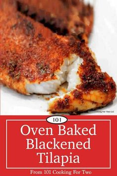 Blackened Tilapia is a wonderful dinner, or you can use it for some great fish tacos. While it is bursting with spicy goodness, it is adjustable to your heat tolerance. An easy and quick recipe that is much healthier than pound Tilapia Easy Fish Recipes, Seafood Recipes, Easy Meals, Cooking Recipes, Healthy Recipes, Baked Tilapia Recipes Healthy, Tilapia Fish Recipes, Recipe For Baked Tilapia, Fish Recipes Tilapia Easy