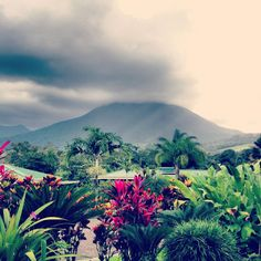 Volcán Arenal. I miss this view already.