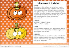 Fortellerkort – Gresskar i trøbbel – Begynneropplæring med Runar Teaching Writing, Teaching Resources, Second Grade, Runes, Kindergarten, Preschool, Language, Classroom, Education