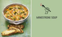 Jamie Oliver's tasty Minestrone Soup FoodRevolution
