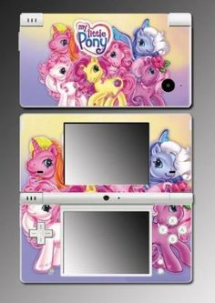 My Little Pony Friendship is Magic Fluttershy Princess Brony Video Game Vinyl Decal Cover Mod Skin Protector for Nintendo DSi $9.98 Your #1 Source for Video Games, Consoles & Accessories! Multicitygames.com