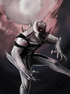 #Anti #Venom #Fan #Art. (Anti-Venom) By: TwilightTrooper. (THE * 5 * STÅR * ÅWARD * OF: * AW YEAH, IT'S MAJOR ÅWESOMENESS!!!™)[THANK U 4 PINNING!!!<·><]<©>ÅÅÅ+(OB4E)