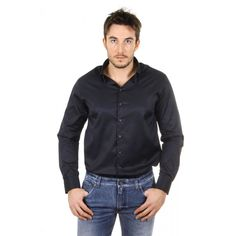 Giorgio Armani Luxury mens shirt long sleeve SSCMHT SS10C 922
